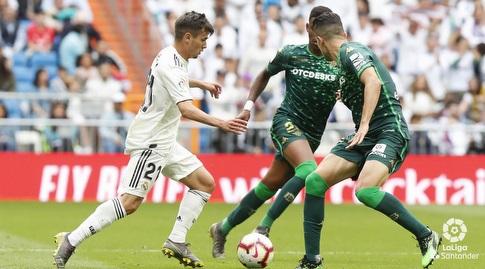 ברהים דיאס מוביל את הכדור (La Liga)