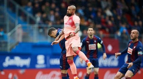 אלכס וידאל עולה גבוה (La Liga)