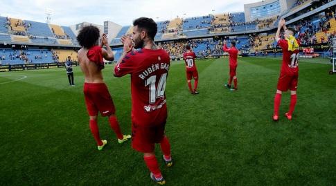 שחקני אוסאסונה. הקבוצה שתהיה אחת מהפתעות העונה (La Liga)