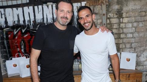 אוראל דגני ושמעון גרשון (רפי דלויה)
