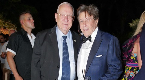 פיני זהבי עם נשיא המדינה רובי ריבלין (שוקה כהן)
