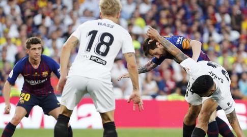 ליאו מסי עם חוסה גאיה (La Liga)
