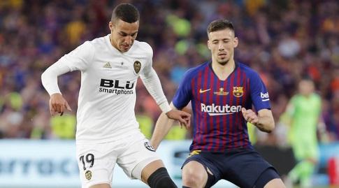 קלמנט לנגלה עם רודריגו מורנו (La Liga)
