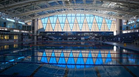 הבריכה האולימפית של וינגייט (איציק בלניצקי)