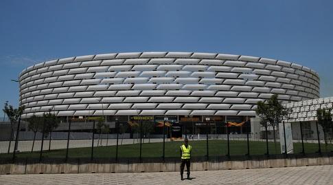 האצטדיון בבאקו (רויטרס)