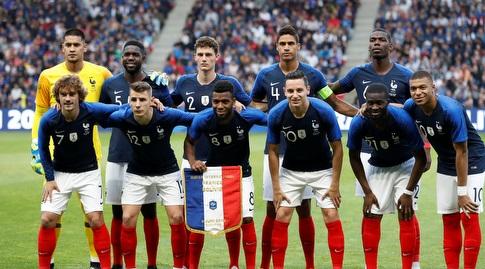 נבחרת צרפת. רק רביעית (רויטרס)