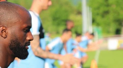 אלי דסה באימון הנבחרת (ההתאחדות לכדורגל)