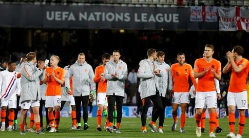 שחקני נבחרת הולנד. איך זה ייגמר היום? (רויטרס)