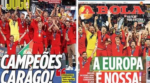 כותרות העיתונים בפורטוגל (מערכת ONE)