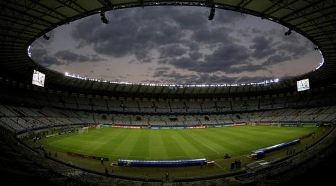 האצטדיון בבלו הוריזונטה (רויטרס)