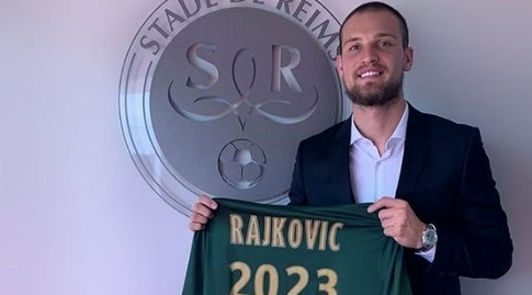 פרדראג ראיקוביץ' עם החולצה של ריימס. השינוי המשמעותי ביותר בסגל (אינסטגרם)