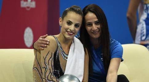 איילת זוסמן ולינוי אשרם (צילום: עמית שיסל, באדיבות הוועד האולימפי)