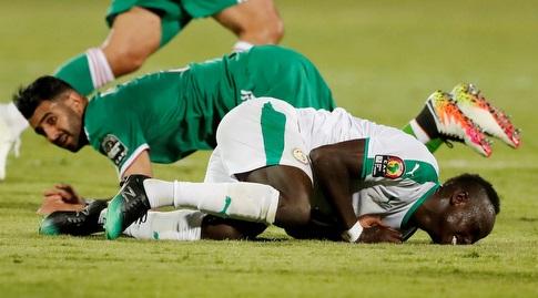 סאדיו מאנה על הדשא. נבחרתו תתאושש? (רויטרס)