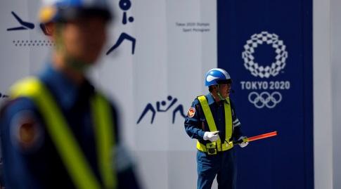 ההכנות ברחובות לקראת אולימפיאדת טוקיו (רויטרס)
