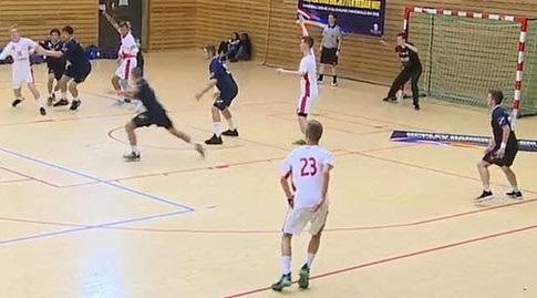 נבחרת הנוער בכדוריד מול פולין (באדיבות איגוד הכדוריד) (מערכת ONE)