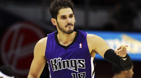 כספי במדי הקינגס, קבוצתו הראשונה ב-NBA (רויטרס)
