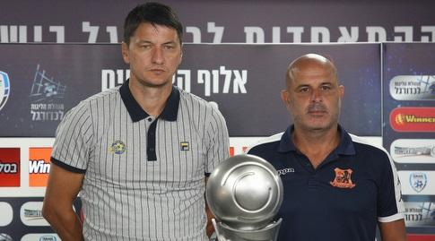 יוסי אבוקסיס ו-ולדימיר איביץ' (שחר גרוס)