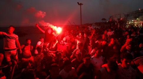 טירוף באלג'יריה (רויטרס)