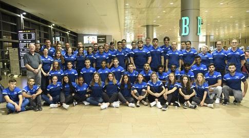 המשלחת הישראלית (באדיבות הוועד האולימפי)