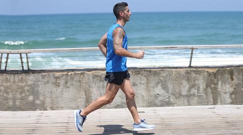 גם לרוץ לבד זה גם נהדר כל עוד אין מגבלת תנועה (רדאד ג'בארה)