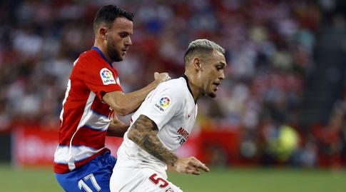 לוקאס אוקאמפוס וקיני מארין במאבק (La Liga)