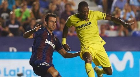 קרל טוקו אקמבי עם הכדור (La Liga)