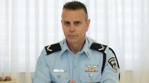 """ראש חטיבת האבטחה במשטרה, תנ""""צ מוריס חן (דוברות משטרת ישראל)"""