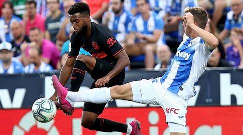 תומא למאר מנסה להשתלט על הכדור (La Liga)