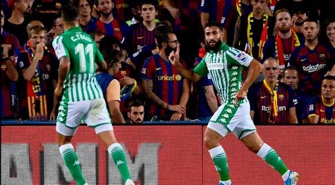 נביל פקיר חוגג. מרוצה בספרד ולא מתחרט לרגע (La Liga)