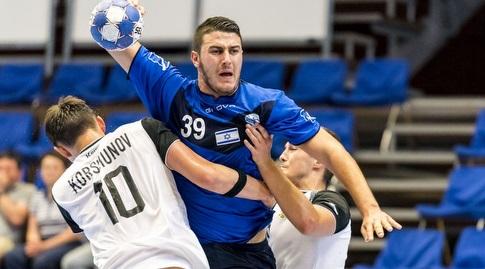 אדיר כהן (באדיבות איגוד הכדוריד - EHF)