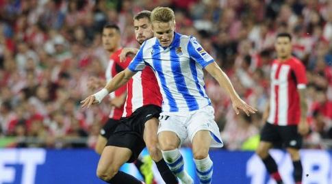מרטין אודגור עם הכדור (La Liga)
