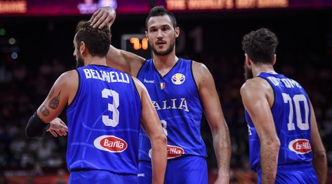 דאטומה, גלינארי ובלינלי (FIBA) (מערכת ONE)