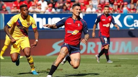 צ'ימי אווילה עם נלסון סמדו (La Liga)