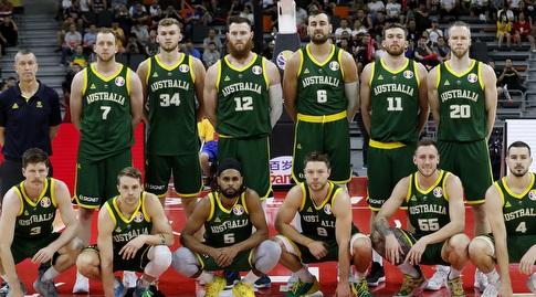 שחקני נבחרת אוסטרליה (רויטרס)