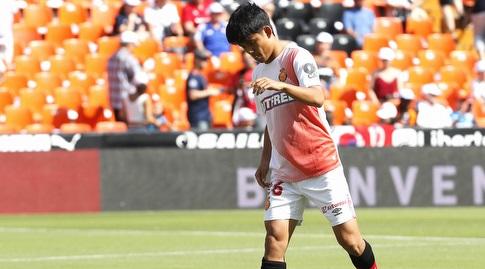 טאקפוסה קובו בחימום (La Liga)