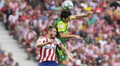 אלברו טחרו מול סאול ניגס (La Liga)