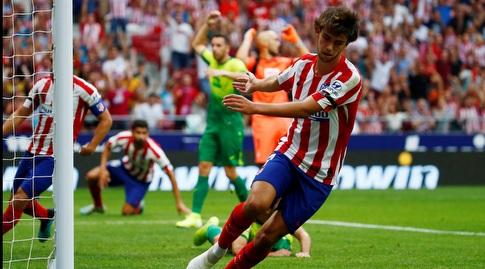 ז'ואאו פליקס חוגג (La Liga)
