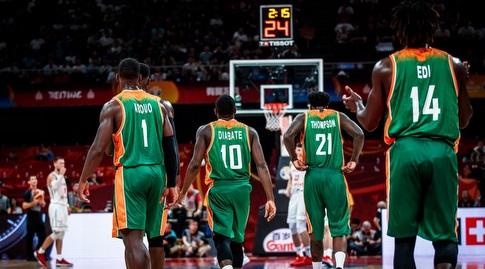 שחקני חוף השנהב מאוכזבים (FIBA)