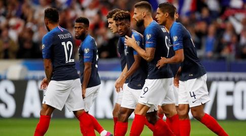 שחקני נבחרת צרפת (רויטרס)