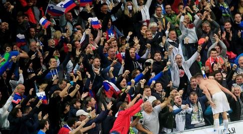 אוהדי סלובניה בטירוף (רויטרס)