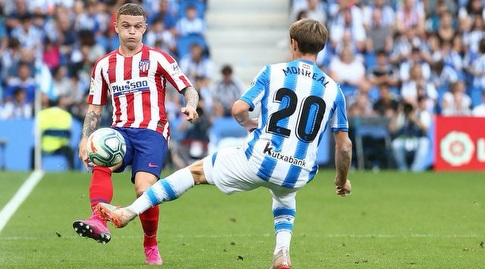 נאצ'ו מונריאל מול קיראן טריפייר (La Liga)