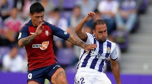 צ'ימי אווילה נאבק עם חאבי מרטינס (La Liga)