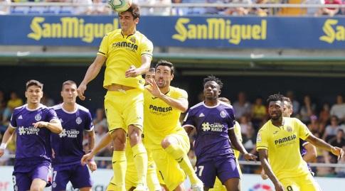 ג'רארד מורנו עולה לנגיחה (La Liga)