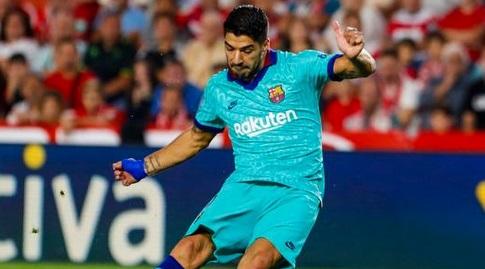 לואיס סוארס בועט (La Liga)