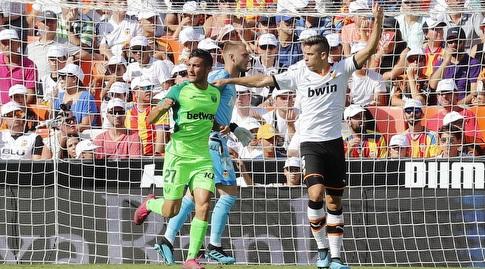 אוסקר רודריגס רץ לחגוג (La Liga)