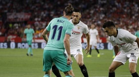 גארת' בייל מו הגנת סביליה (La Liga)