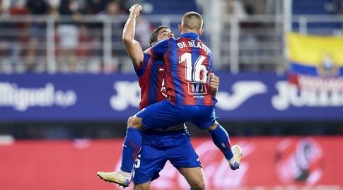 שחקני אייבר חוגגים (La Liga)