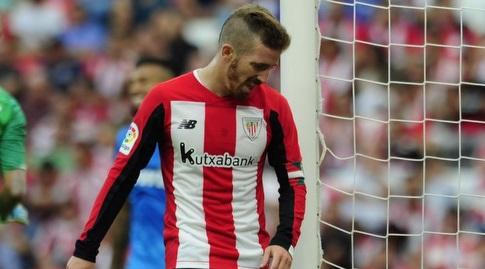 איקר מוניאין מאוכזב (La Liga)