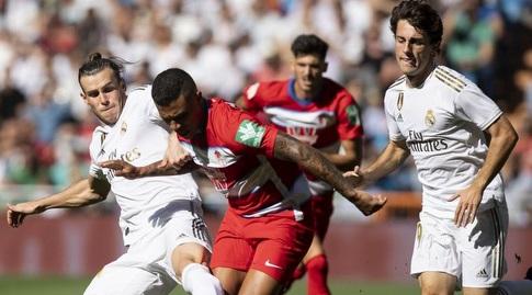 גארת' בייל מנסה לחטוף את הכדור (La Liga)