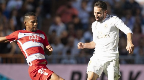 דני קרבחאל עם הכדור (La Liga)